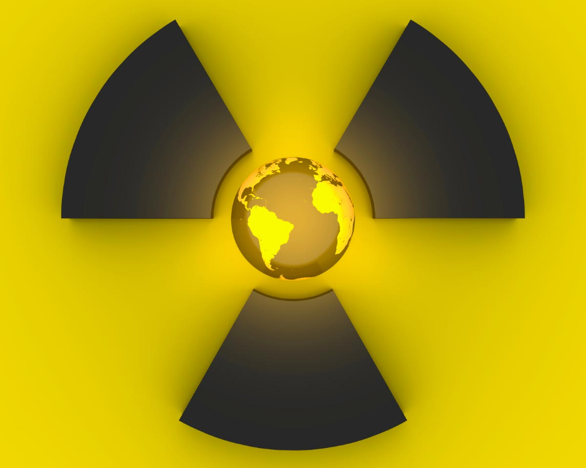 Radiation-Nuclear-Power-World-Globe-Danger