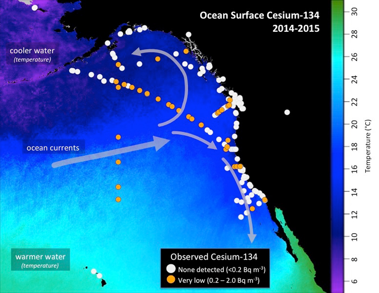 Scientists Detect Highest Levels Of Fukushima Radiation Off The Coast Of California Taken To Date